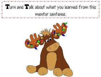 Mooseltoe Interactive Mentor Sentence Teaching PowerPoint