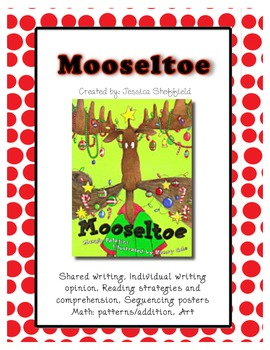 Mooseltoe Reading & Sequencing Mini Unit
