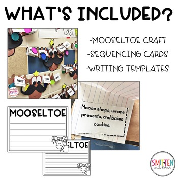 Mooseltoe Sequencing Craftivity