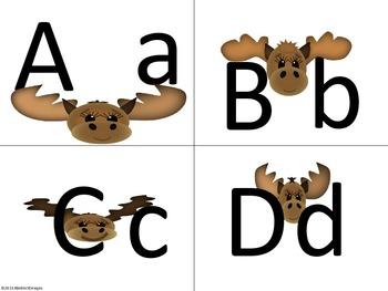 Mooserific Alphabet (Word Wall Tags)