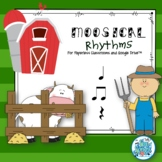 Moosical Rhythms-Read and Write Quarter, Eighth Notes,Rests Paperless Classrooms