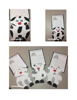 Moo'vin Up Cow Craft & Activity