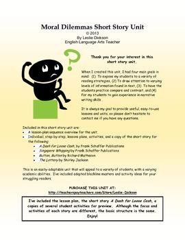 ethical dilemmas scenarios for kids