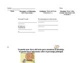 Moral Lesson Anchor Chart (El leon y el raton) Fable