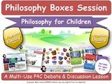 Moral & Spiritual Development (P4C - Philosophy For Children) [Lesson] (Boxes)