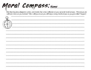 Moral Worksheet
