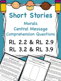 Moral of Stories & Different Versions RL 2.2 RL 2.9 RL 3.2 & RL 3.9