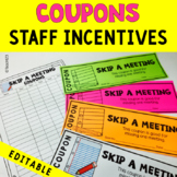 Morale Booster Coupons EDITABLE