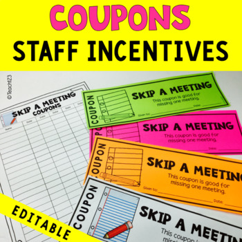 Teacher coupons from principal teaching resources teachers pay morale booster coupons editable morale booster coupons editable fandeluxe Choice Image
