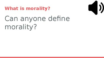 Morality and Technology - Discussion Day