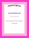 More Adventures of the Superkids Memory Words