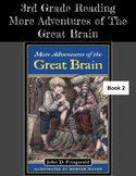 More Adventures of the Great Brain: 3rd Grade Reading