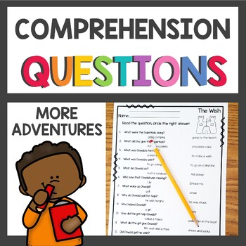 More Adventures of the Superkids Graphic Organizers and Co