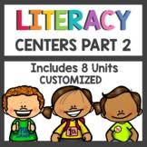 First Grade Literacy Centers Bundle Part 2