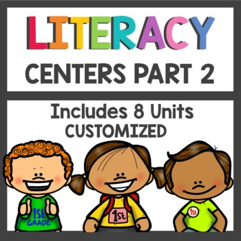 More Adventures of the Superkids Literacy Centers Bundle