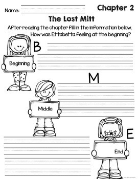 More Adventures of the Superkids Reading Response Sheets