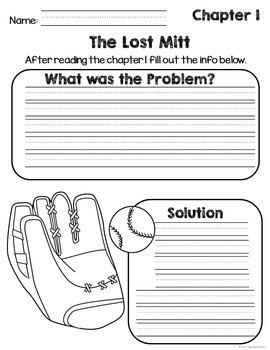 1st Grade Reading Response Sheets Part 2