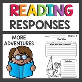 1st Grade Reading Response Sheets Part 2