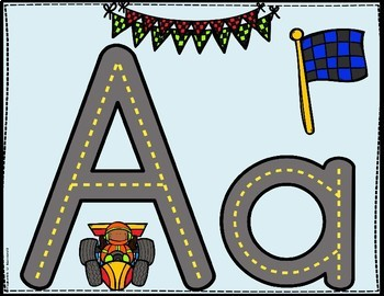 More Alphabet Roads: Mixed Uppercase And Lowercase Letter Printing Practice