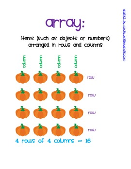 More Arrays: A Multiplication Strategy