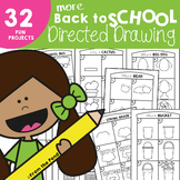 More Back to School Directed Drawings - Fun Art Projects