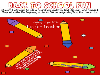More Back to School Fun