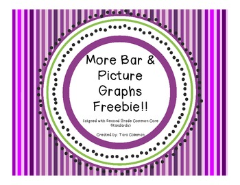 More Bar & Picture Graphs Freebie