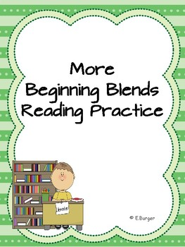 "More Beginning Blends (""r"" blends) Reading Practice"