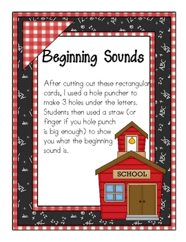 More Beginning Sound Cards