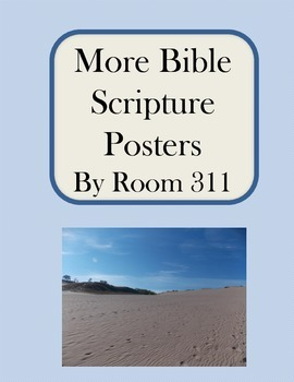 More Bible Scripture Posters
