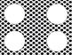 More Black and White Polka Dots Classroom Labels and Tags