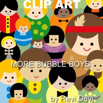 Boys clip art