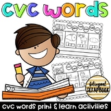CVC Words (Word Families Practice Pages)