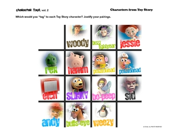 More Character Tags Creative Connections for Literature