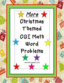 More Christmas CGI Holiday Word Problems 2