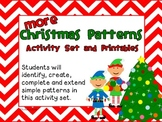 More Christmas Patterns: Activity Set & Printables