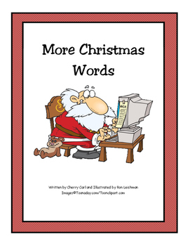 More Christmas Words Shared Reading Big Book
