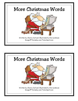 More Christmas Words guided reading