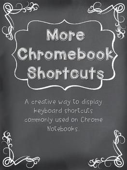 More Chromebook Shortcuts