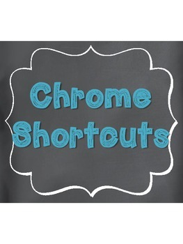 More Chromebook Shortcuts Teal