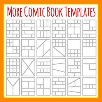 more comic book templates graphic novel templates clipart