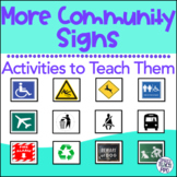 More Community and Safety Signs: Special Education