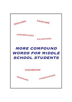 More Compound Words for Middle School Students