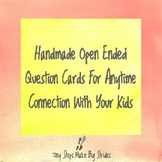 More Conversation Starters for Kids