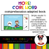 More Core Word Comprehension Adapted Book