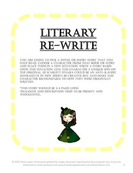 More Creative Writing Story Prompts