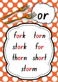 More Digraph Phonic Posters - 9 Posters