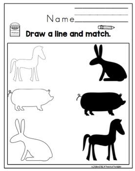"More Dot Dauber Fun with Animals ""No Prep"""