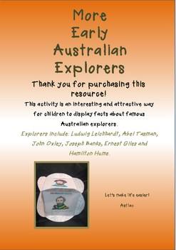 More Early Australian Explorers Cube