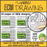 More! Echo Drawing for Drawing Warm-Ups & Early Finisher A